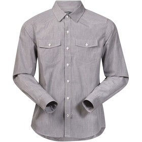 Bergans Justøy Shirt LS Men Solid Grey